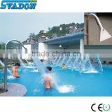 Stainless steel swimming pool waterfall swimming pool nozzles spa nozzles