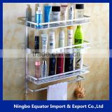 Good quality 3 layers towel bar bathroom shelf/wall shelf/bathroom accessories set top Hot!                                                                         Quality Choice