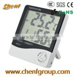 Inquiry About Hot Sell LCD HTC-1 Digital thermo hygrometer with time alarm