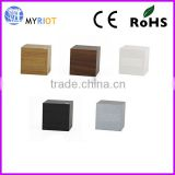 Hot sell muti-function wooden cube LED table clock                                                                                                         Supplier's Choice