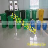 120L 240L HDPE Hot outdoor plastic dustbin /street waste litter bin