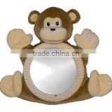 2014 New design monkey toy back seat mirror for baby