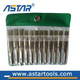 Dipped handle needle steel files diamond rasp