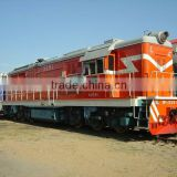 Forwarder railway service international shipping truck logistic from Zhengzhou to Moscow