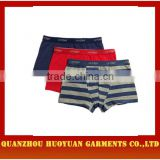"Huoyuan sexy <span class=""wholesale_product""></span> funny cotton boxer shorts for men 3pieces pack collection"