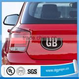 custom made removable car bumper decal sticker label