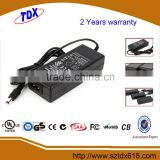 Replacement 24v 1.75a ac power adapter for hp laptop with UL GS CE SAA FCC approved (2 years warranty)