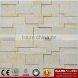IMARK Natural Color Marble Stone Mosaic Tile With Matt Surface For Outdoor And Interior Walls Decoration Code IVM10-008