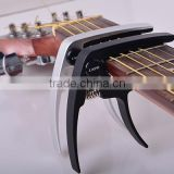 PB-A107 metal aluminum alory quick change tune clamp key guitar capo parts