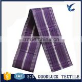 100% polyester Aso Oke headtie luxuriant in design cheap price African traditional style