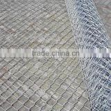 Sports ground chain link fence/Hot Dipped Galvanized Farm Fencing Chain Link Fence/cheap galvanized pvc coated square wire mesh