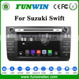 Touch Screen Double Din Car Multimedia Player For Suzuki Swift Car Dvd Gps Navigation System With Bluetooth Radio Stereo