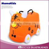 plastic baby suitcase kids lugagge new model travel luggage box kids trolley hard case luggage