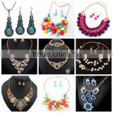 Women fashion necklace earring jewelry set