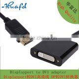 DP DisplayPort to DVI Male to Female Adapter Cable Converter with 1080p Full HD Compatible for Projector