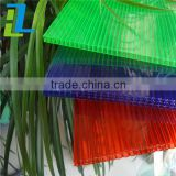 colorful excellent light transmitting pc transparent roofing sheet plastics panel solid flat polycarbonate sheet