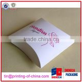 2014 new design High quality Fashion Customize paper pillow boxes wholesale,paper box manufacturer,Paper packaging box