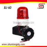 red flashing light siren alarm horn speaker buzzer dc 12v/24v BJ-60