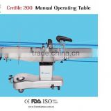 High quality adjustable surgical electric operating bed/clinical electric operating table for sale