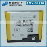 Shenzhen Battery manufacturer replacement lithium battery for LENOVO ion high mAh Sparepart battery for lenovo BL220 battery