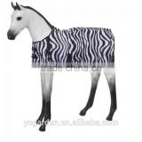 colorful strong nylon horse saddle cover features a cut out for horn