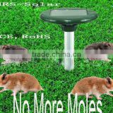 Solar Mouse Repeller Mice Mole Mover Rodent Repeller Aluminum Tube Mouse's Enemy Good Helper