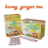 FDA approved 7g AIU packages Instant Ginger tea powder with lemon/ginger tea with jujube