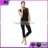 ladies fitness clothing with lace girls hot sex photos black milk womens push up capri leggings