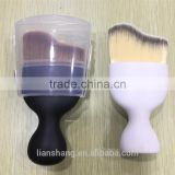 Plastic long handle nylon hair cosmetic makeup foundation powder brush,foundation brush