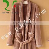 100% cotton terry cloth hotel bathrobe
