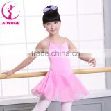 Ballet Dance Wear Chiffon Dress Ballet Leotard Shoulder Straps Style Girls Ballet Dance Costumes