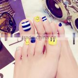 24 pcs Pre Design Toe Nail Art Tips