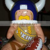 INFLATABLE FOOTBALL PLAYER MASCOT