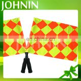 Wholesale Polyester Football Or Soccer Hand Referee Flag Sport Flag