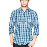 Cotton polyester men shirt