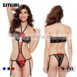 Zhejiang Xl Size Latest Designs Teddy Revealing Ladies Sexy Nightwear