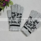Ladies' cute knit gloves for winter (JDG-S1A-1314)