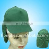children's cap with neck-protection