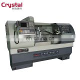 CJK6140B Flat Bed  CNC Lathe Machine with three gears