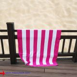 OEM large customized polyester anti sand beach towel, microfiber suede cotton beach towels in stock