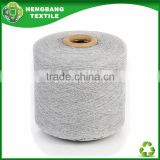 HB1107 recycle regenerated cotton polyester open end yarn for socks knitting from china wholesale stock lot
