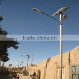 Toughened Glass Lampshade Material and Solar Power Supply outdoor LED solar street light
