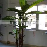 the evergreen leaf large leaf plants artificial banana plants/fake banana trees