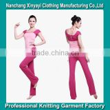 2015 Hot Sale Sportswear Product Type and Adults Age Group Yoga Wear Wholesale from Chinese Clothing Manufacturers