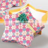 star shape gift packaging paper box