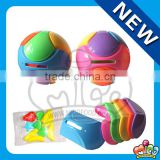 Mico colourful ball shaped piggy money bank toy candy