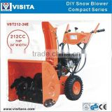 "7HP 22"" Width DIY Style Electric Start Loncin Engine Snow Blower"