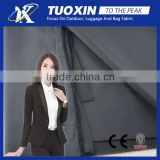 faille bonded knit fabric for business suit