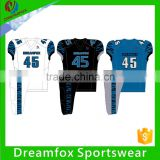 Sublimation customized youth blank american football jerseys, reversible football jerseys                                                                                                         Supplier's Choice