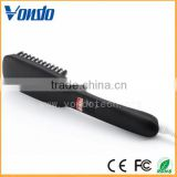 2 in 1 Anion Straight Comb Brush Hair Straightener PTC Heating Fast Hair Straightener Brush